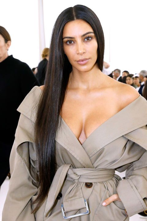 20 Extra-Long Hairstyles We Can't Stop Obsessing Over We love this look in Kim Kardashian West!