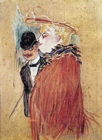 Henri de Toulouse-Lautrec - Paar