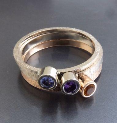 BIZOE komplet 3 złotych pierścionków http://www.gemstudio.pl/pl/p/BIZOE-komplet-3-zlotych-pierscionkow-/255