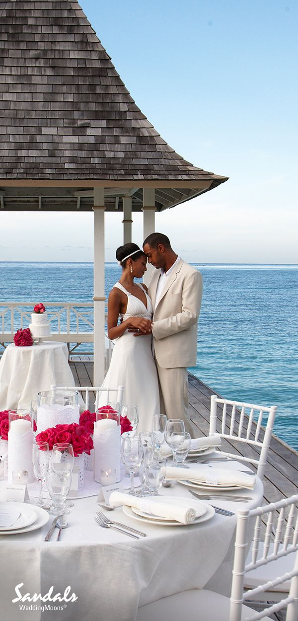 "Sandals WeddingMoons®, where your honeymoon begins the moment you say ""I do"". With more quality inclusions than any other resort on the planet, you'll find endless ways to enjoy your time together at our Luxury Included® Sandals Resorts in the Caribbean. Visit www.sandals.co.uk to learn more."