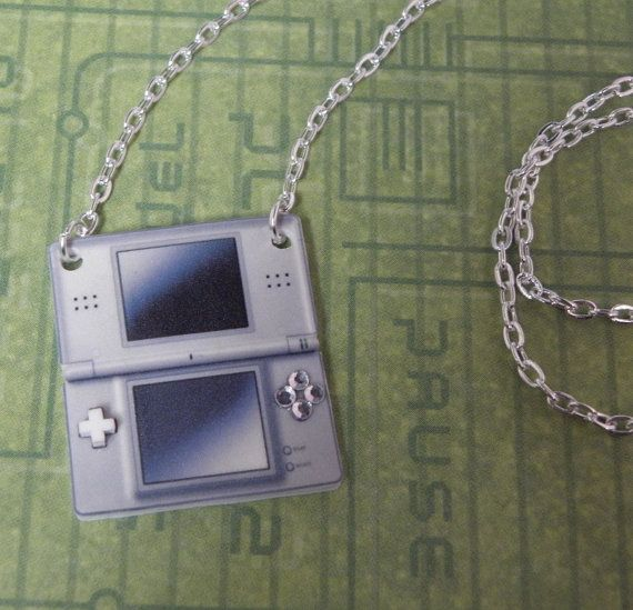 GIRL GAMER Nintendo DS Console Video Games Necklace by PlayBox, £9.00