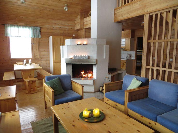 Living area, Rukakorpi Holiday Villas