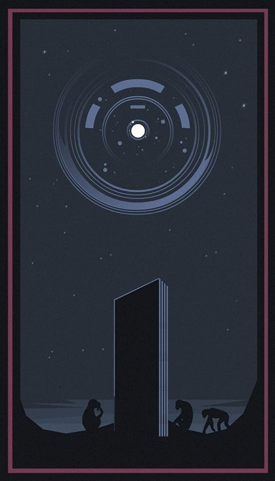 529 best phone wallpapers images on pinterest - 2001 a space odyssey wallpaper ...