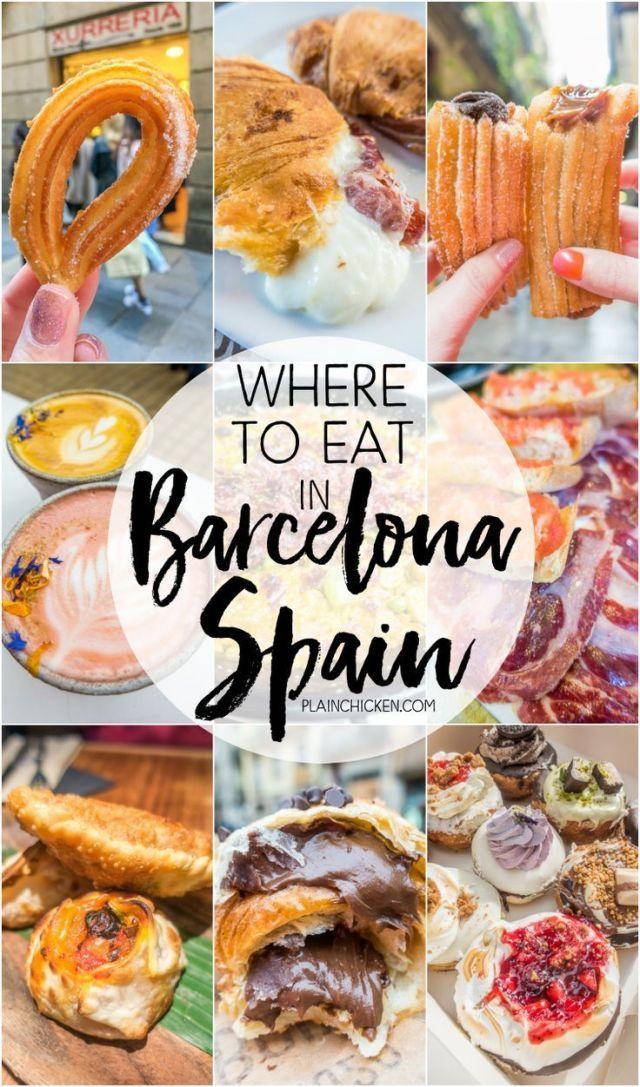Wo essen in Barcelona – Churros, Tapas und mehr! PLUS eine lebensverändernde Nu…