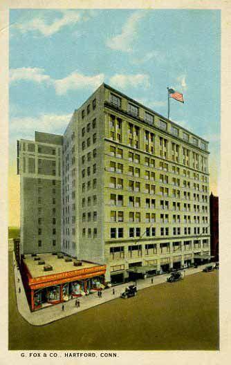 G. Fox & Company Department Store – Hartford, CT - Read & Discuss:  http://www.retroplanet.com/blog/retro-memories/new-england-memories/g-fox-and-company-department-store-hartford-ct/