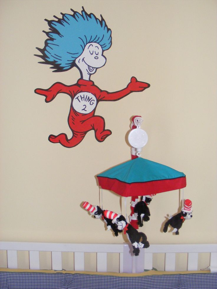 88 best dr seuss hand painted murals by me images on for Dr seuss nursery mural