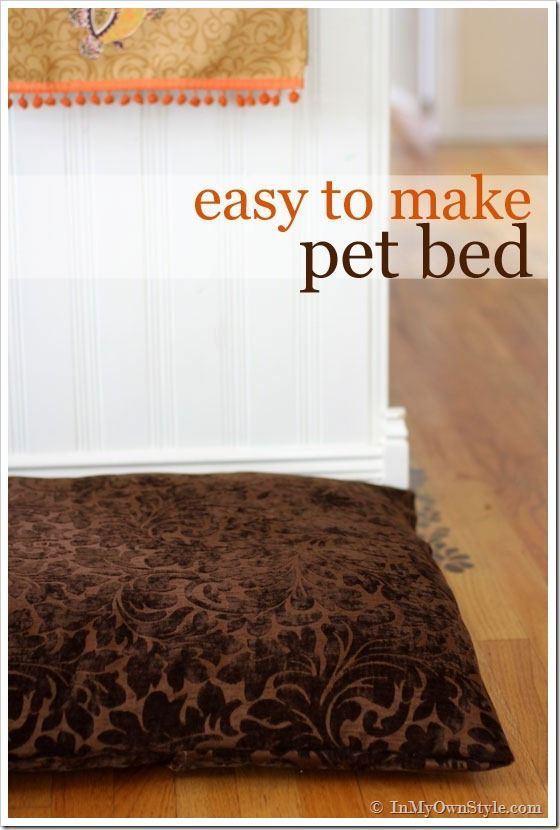 How to make a dog or cat pet bed & 77 best pet bed making images on Pinterest | Basket Cat beds and Cats pillowsntoast.com