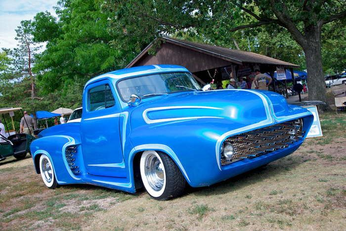 Kustom Kingdom: Ford Pick Up 1953 radical custom Maintenance of old vehicles: the material for new cogs/casters/gears could be cast polyamide which I (Cast polyamide) can produce