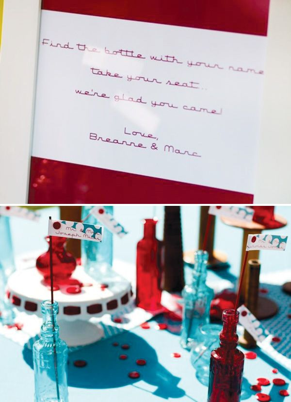 1950s Inspired Retro Wedding {Red & Turquoise} (bad bad @Laura Maddrey)