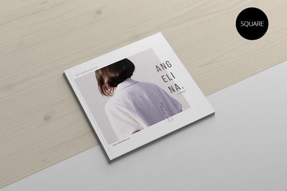 Angelina Lookbook by Visual Art Supply Co. on Creative Market