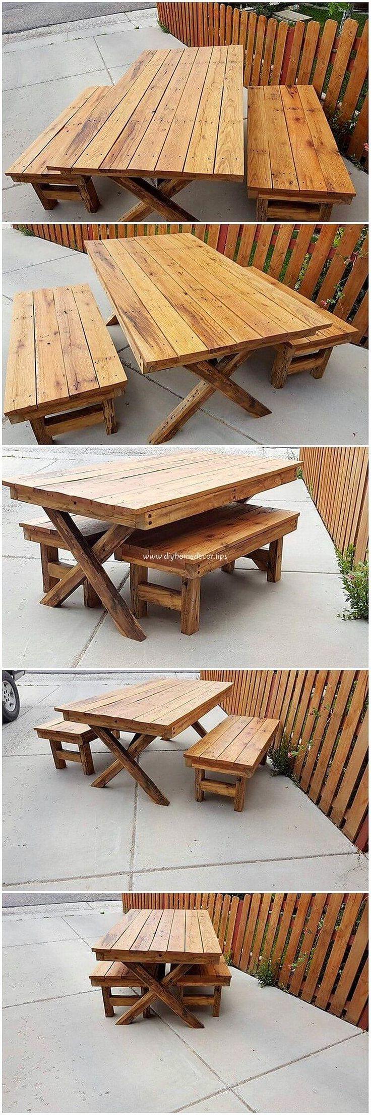 Extraordinary Wood Pallets Reusing Ideas 5914 best