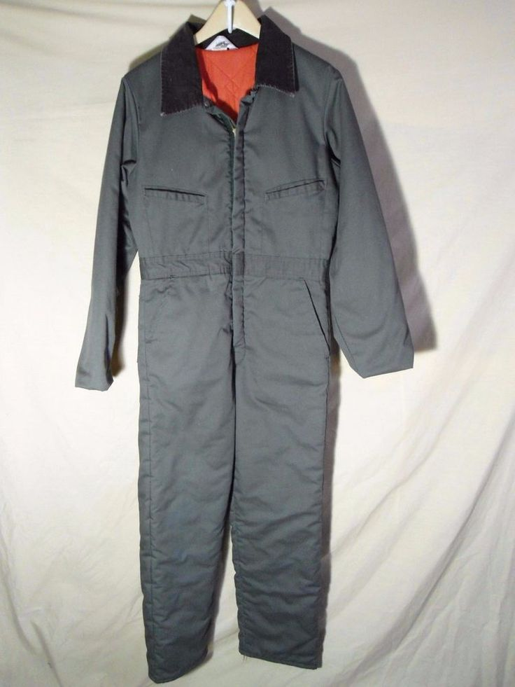 vintage key usa men s insulated work coveralls overalls on insulated work overalls id=64786