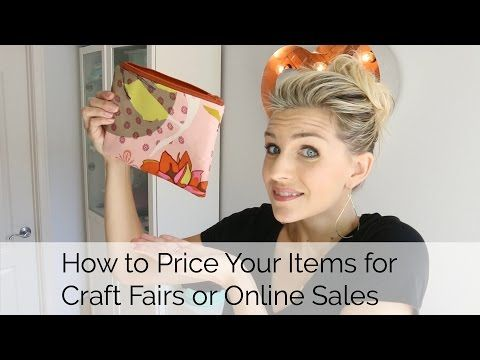 How to Price your Items for Crafts Fairs or Online Sites |