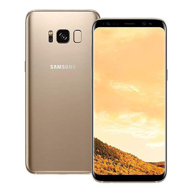 Amazon Com Samsung Galaxy S8 Maple Gold 64gb Straight Talk Via