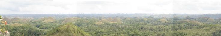 Chocolate Hills in Carmen, Bohol