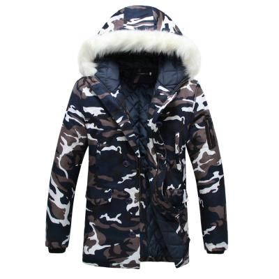 Goose Feather Parka Camouflage