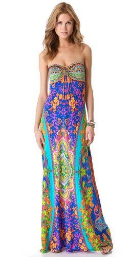 Camilla Drawstring Cover Up Maxi Dress | SHOPBOP
