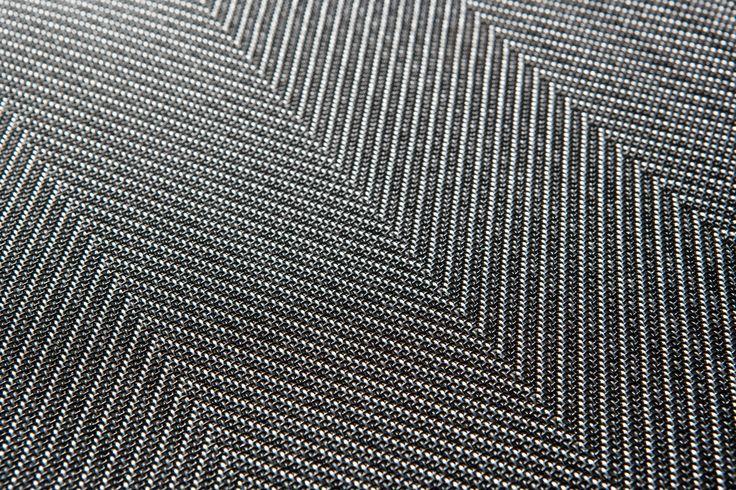 2tec2 – Revêtements de sol en vinyle tissé - Steel Herringbone - Rouleaux