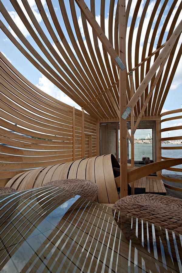 WISA Wood Design Hotel in Helsinki by Architect Pieta-Linda Auttila