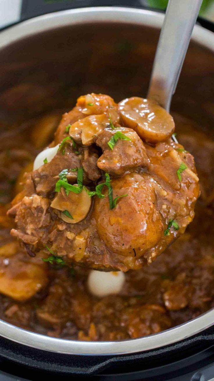 Ultimate Instant Pot Beef Stew   Recipe   Instant pot beef ...