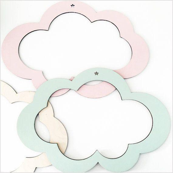 nube la pared decoración decoración decoración del estante