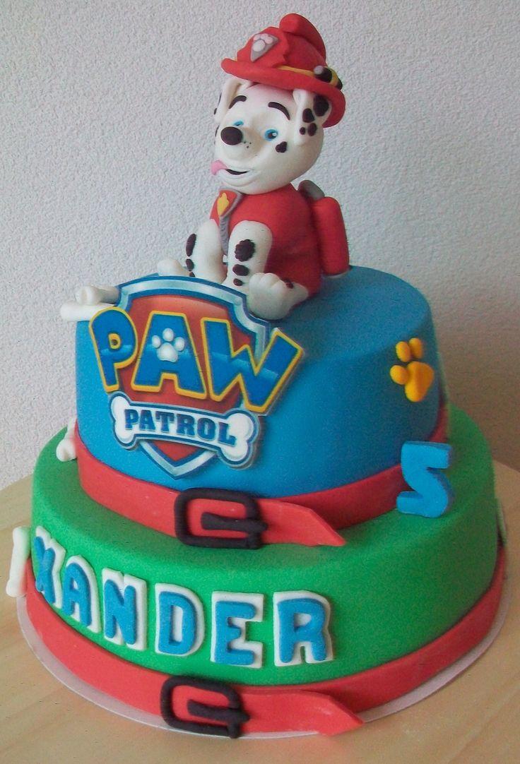 Taart Paw Patrol