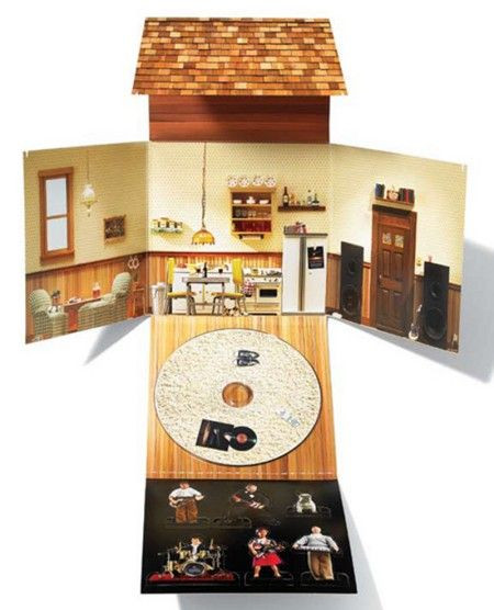 CD packaging - The Terrier and Lobster: Dollhouse-Inspired Design