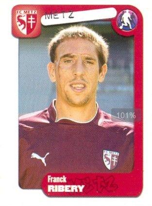 Franck Ribery 2004 en el Metz.