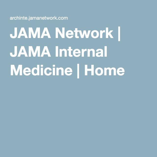 JAMA Network | JAMA Internal Medicine | Home