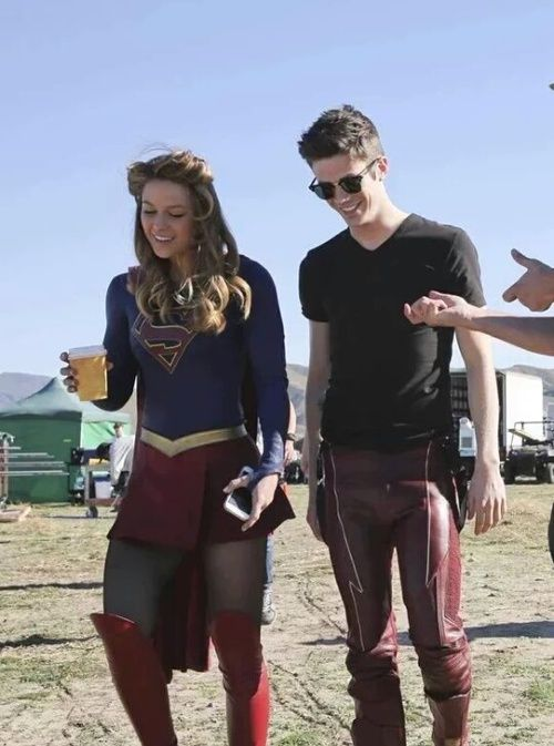 Supergirl, melissa benoist, and grant gustin image