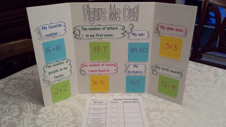 Figure Me Out Math Activity - Teaching Heart Blog Teaching Heart Blog