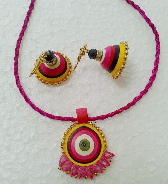 Quilled Paper #Jewellery - Jewelsome