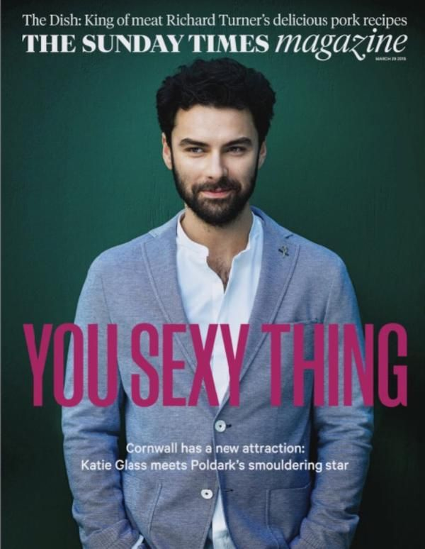 Aidan Turner interview in tomorrow's Sunday Times