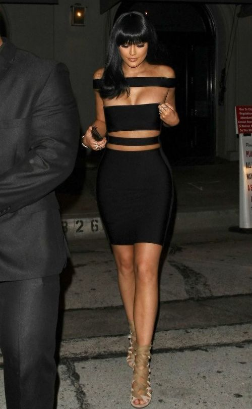 Kylie Jenner Photos: The Kardashian Family Dines Out at Craig's Restaurant