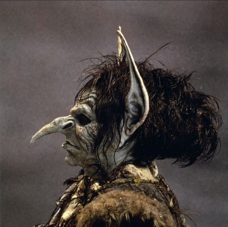 A goblin named Blix, from the movie, Legend: Foulest Witch, Creatures Costumes, Blix Alice, 80 S Movie, Movie Legends, Coolest Movie, Goblin Blix, Things, Legends 1985