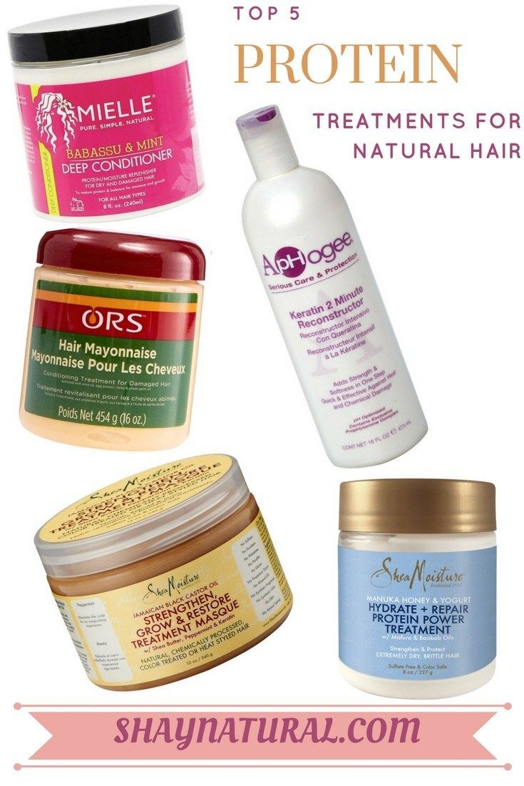 Top 5 Protein Treatments for Natural Hair | ShayNatural