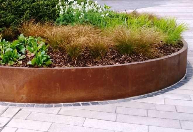 Best 25+ Corten steel planters ideas on Pinterest | Corten ...