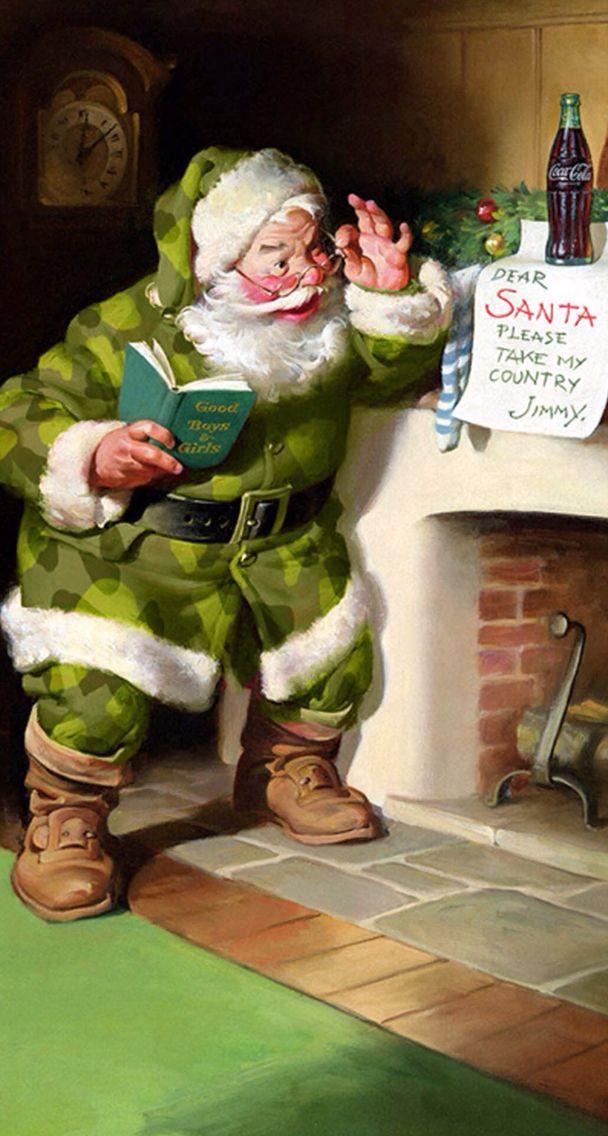 283 best images about coca cola santa on pinterest. Black Bedroom Furniture Sets. Home Design Ideas