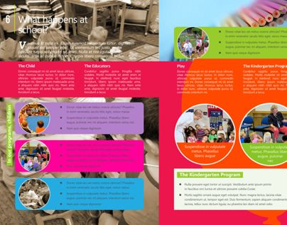 Best Kindergarten Brochure Ref Images On   Print