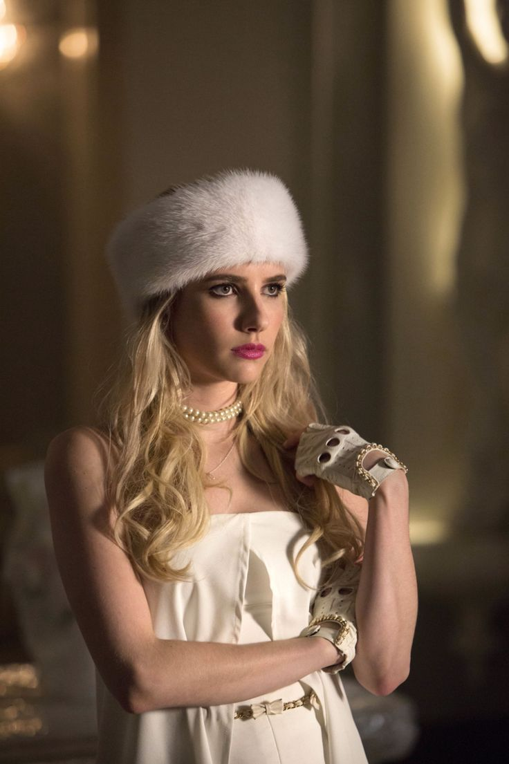 Chanel Oberlin from Scream Queens, or otherwise know as the sassiest person on tv. This is one of my favorite outfits on her from Season 1.
