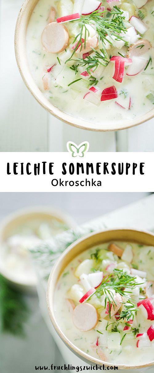 Okroschka selber machen – Rezept für die kalte Sommersuppe