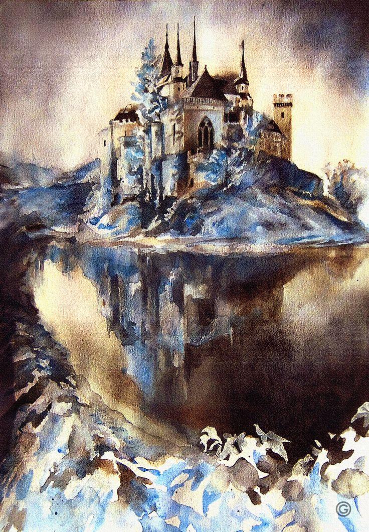 Watercolor by Oksana Gatalskaya
