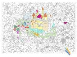MAGIC Giant Coloring Poster