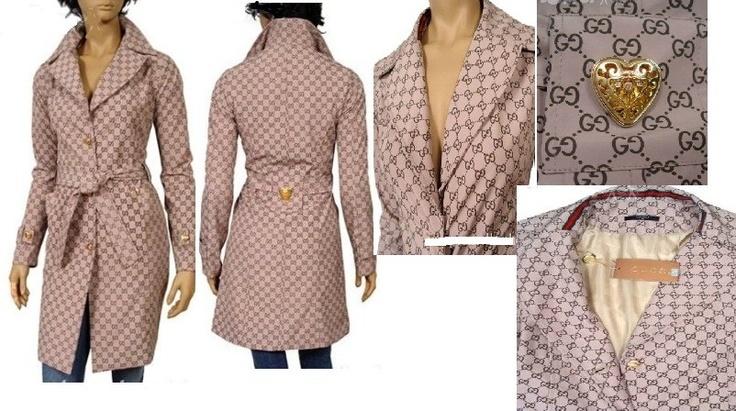 Pink Gucci trent coat