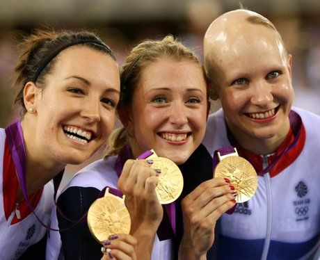 Dani King, Laura Trott and Joanna Rowsell break the world record to win Women's Team Pursuit gold!