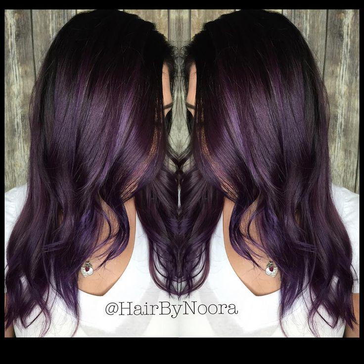 Best 25+ Eggplant hair ideas on Pinterest   Deep violet ...