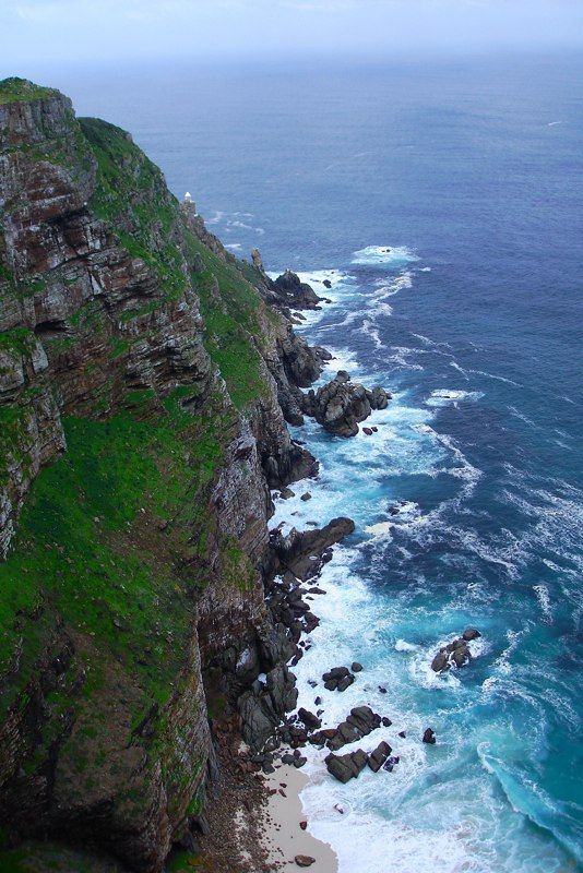 Cape Point also know as Cape of Good Hope