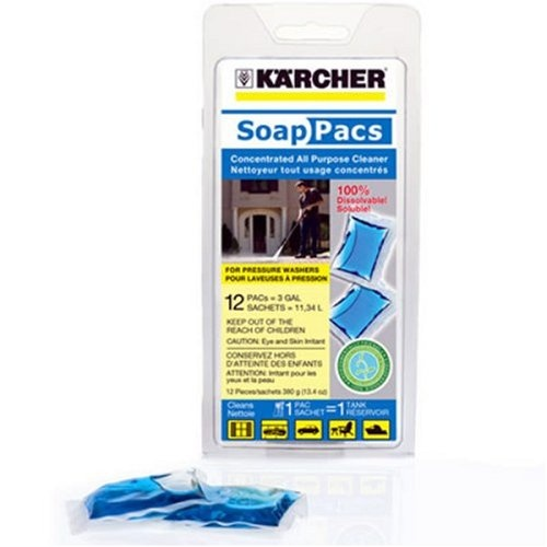 Karcher 9.558-111.0 Pressure Washer All Purpose Cleaner SoapPac, 12-Pack