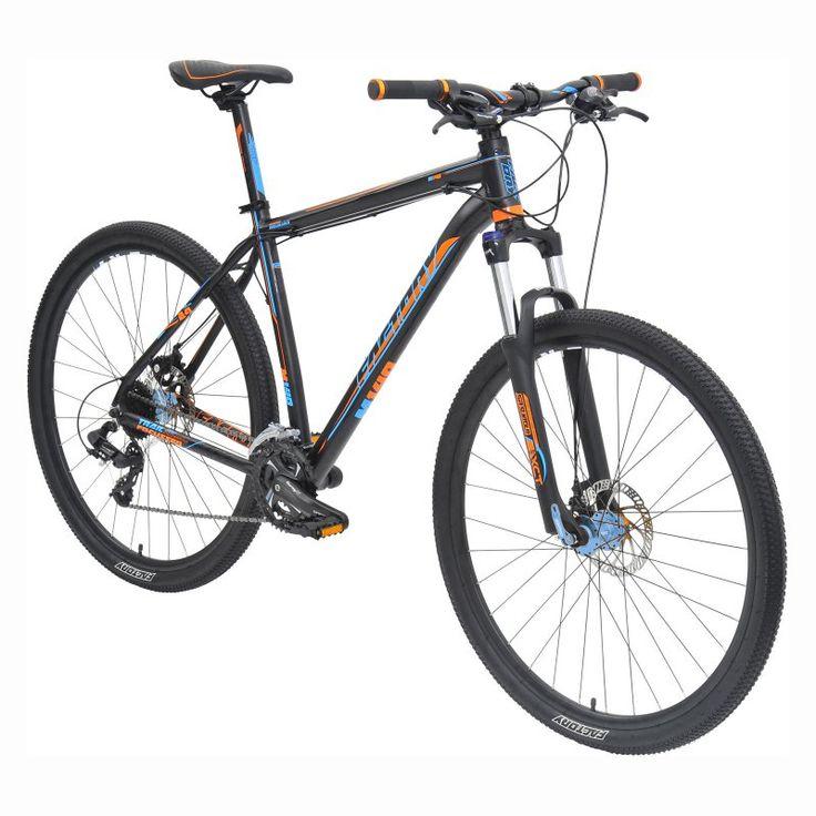 Factory M140 MTB 24 Speed Bike - Blue/Orange - 8304