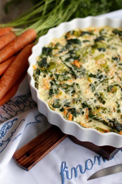 Könnyű, tavaszi zöldséges pite recept